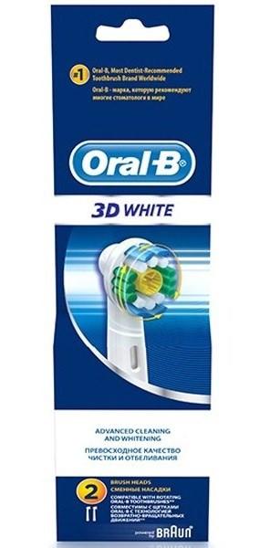 Billede af Oral-B 3D White -Tandbørstehoveder (EB18) - 3 Stk.