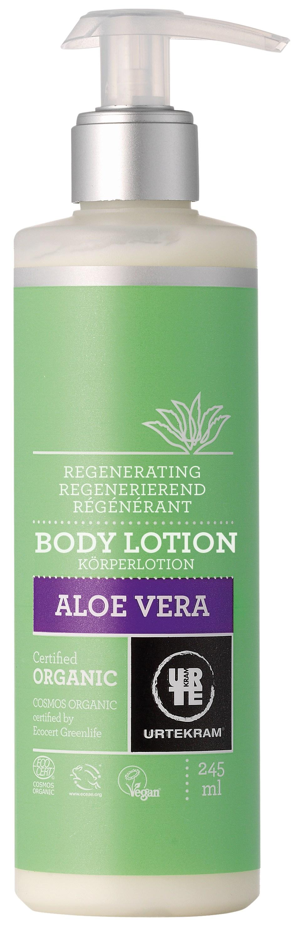 Urtekram Aloe Vera Body Lotion Regenererende - 245 ml