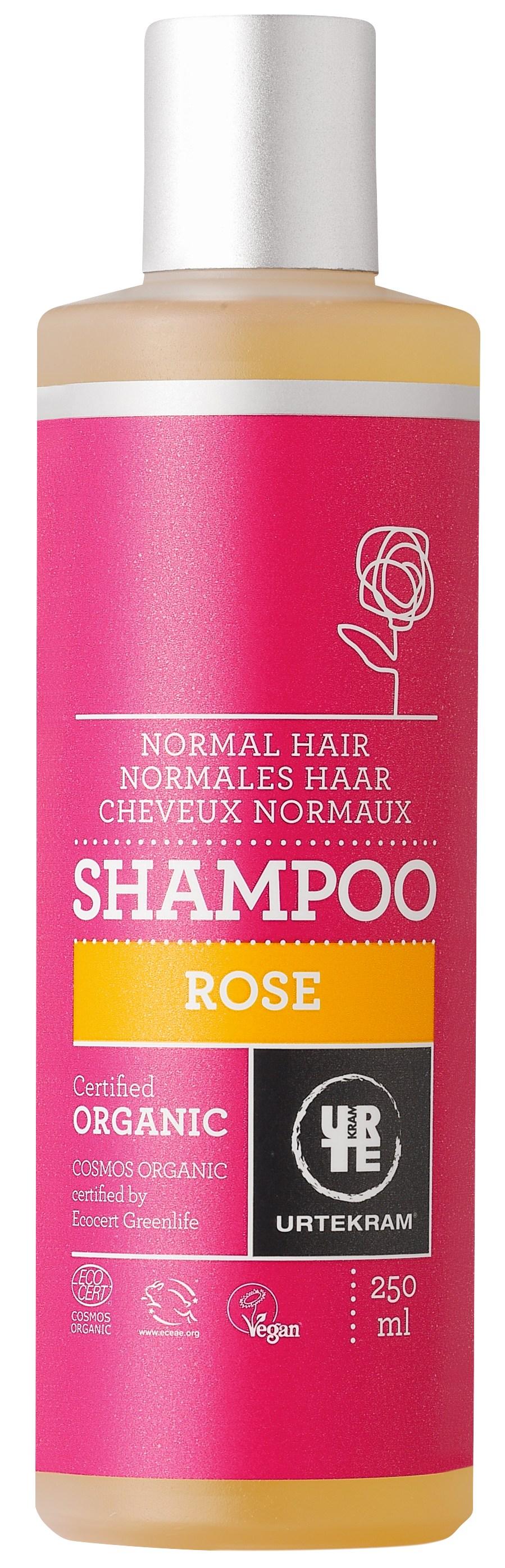 Urtekram Rose Shampoo - Normalt Hår - 250 ml