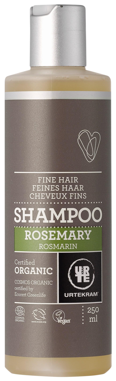 Urtekram Rosmarin Shampoo - Fint Hår - 250 ml