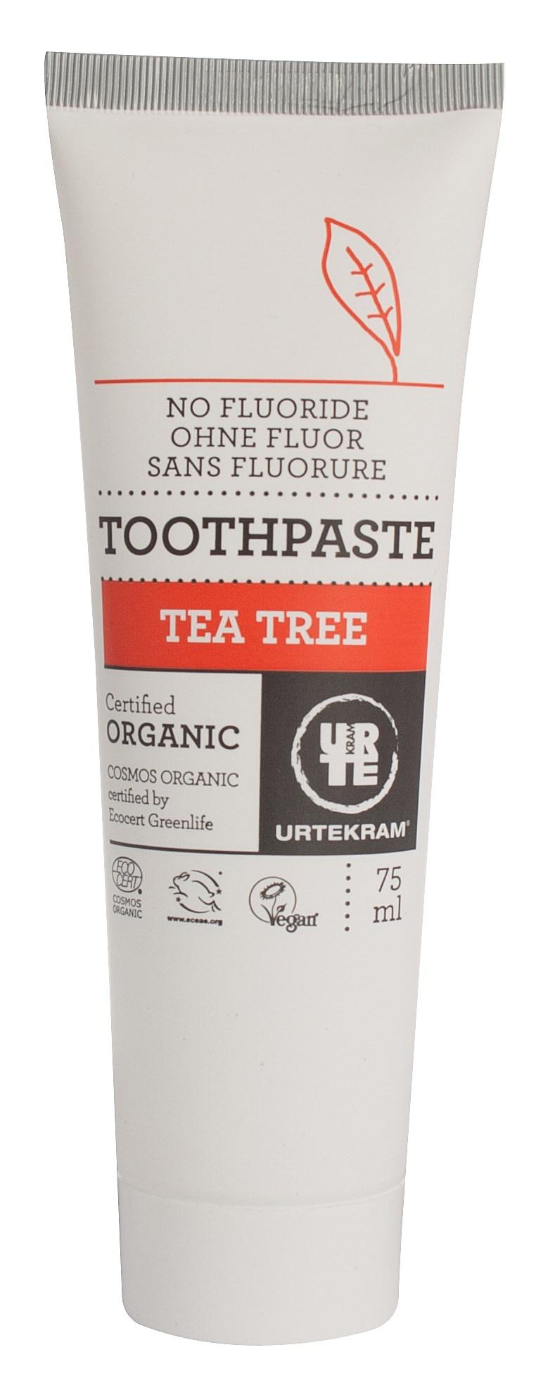 Urtekram Tandpasta Tea Tree - 75 ml