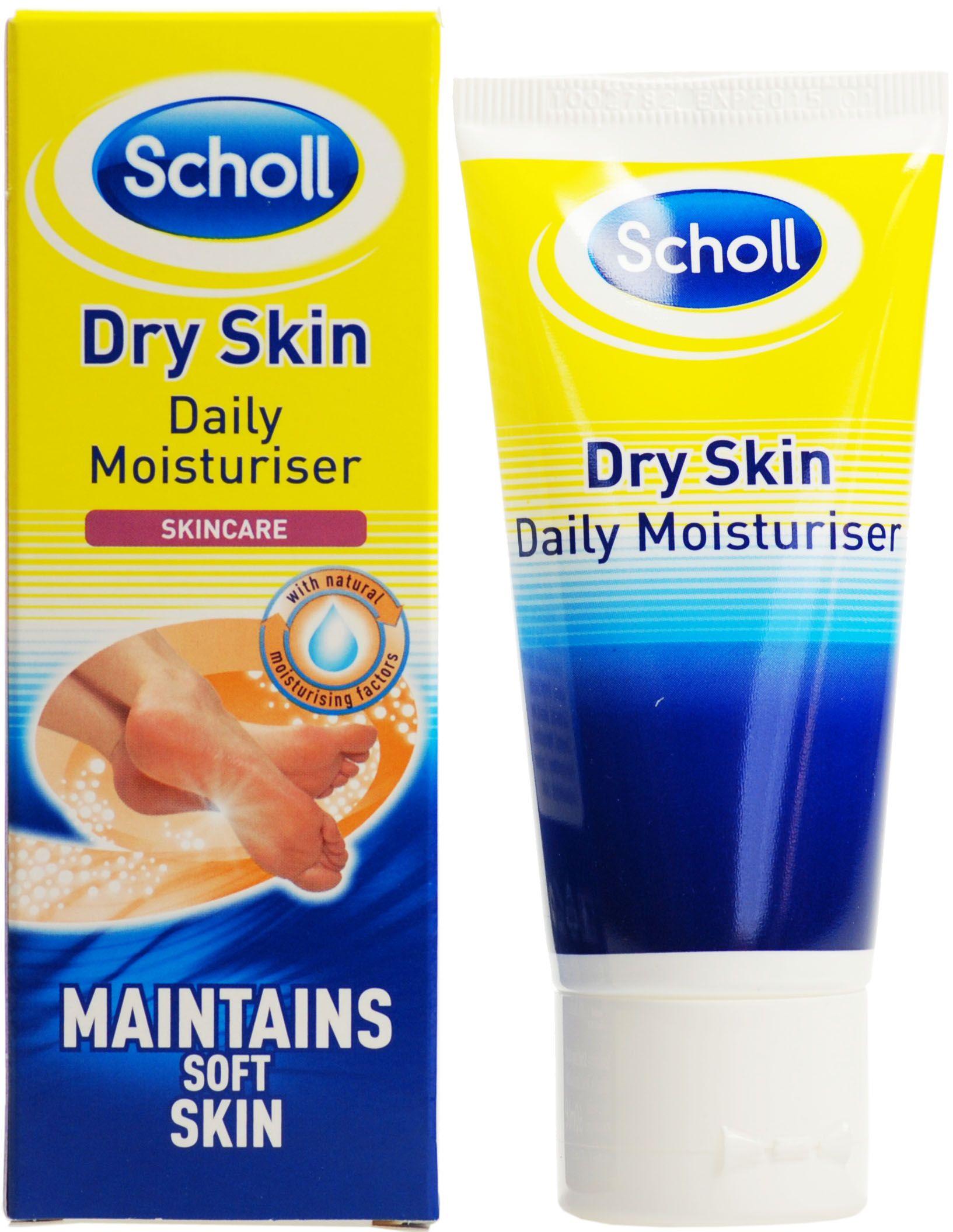 Image of   Scholl Fugtighedscreme til tør hud på fødderne - 60 ml