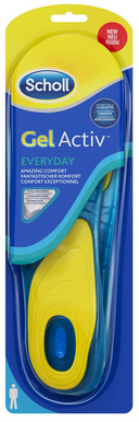 Image of   Scholl Gel Activ Everyday - Dame - 1 Par