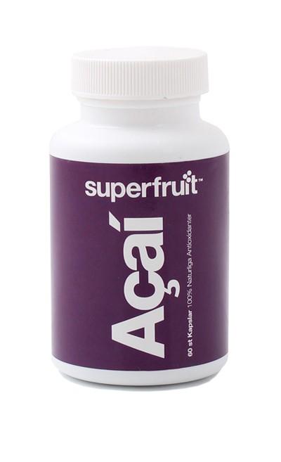Image of   Superfruit Acai Kapsler - 500 mg - 60 Kaps