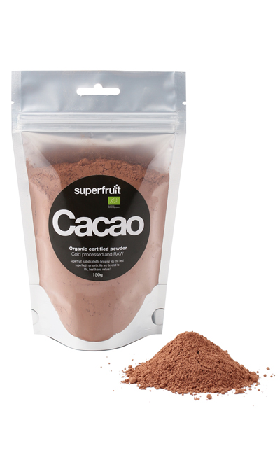 Image of   Superfruit Cacao Pulver Raw Ø - 150 Gram