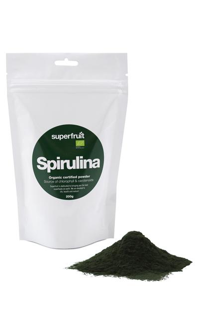 Superfruit spirulina fra Mecindo