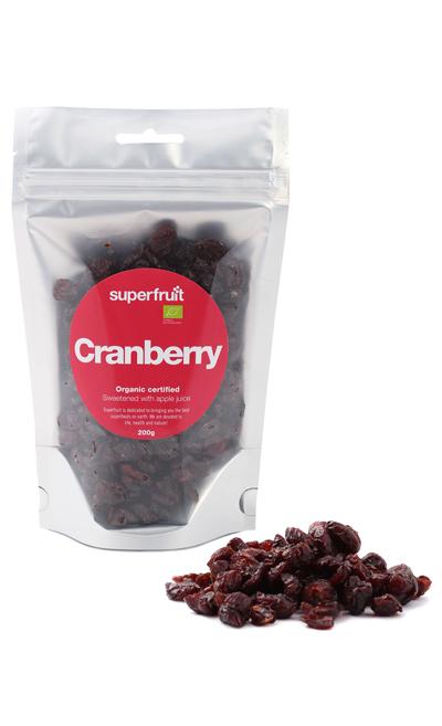 Image of   Superfruit tørrede Tranebær Ø - 200 Gram