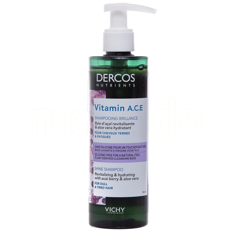 Image of   Vichy Dercos Vitamin Shampoo - 250 ml
